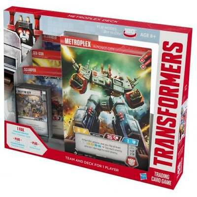 TRANSFORMERS TCG * Wave 1A - Transformers Trading Card Game Metroplex Deck