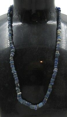 Authentic Ancient Roman Era Glass Beaded Necklace - H267