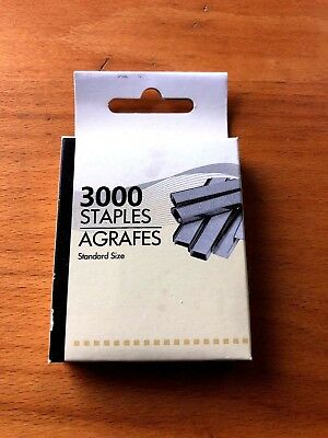STAPLES Standard Size 3000/Pack