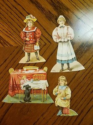 """Lion Coffee Trading Cards Doll House """"the Dining Room """""""