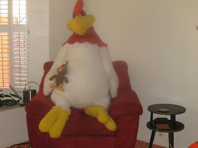 "Foghforn Leghorn W/chicken Hawk 54"" T In Good Condition"