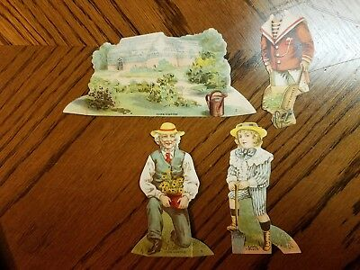 """Lion Coffee Trading Cards Doll House """"the Garden """""""
