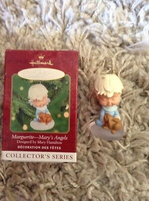 Hallmark Mary's Angels MARGUERITE 13th In Series Ornament 2000 Christmas