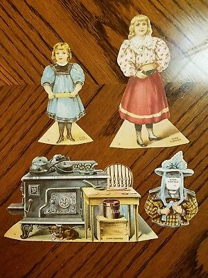 """Lion Coffee Trading Cards Doll House """"the Kitchen """""""