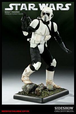Sideshow Star Wars Scout Trooper Exclusive Premium Format Figure