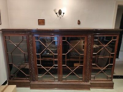 Regency style reproduction bookcase