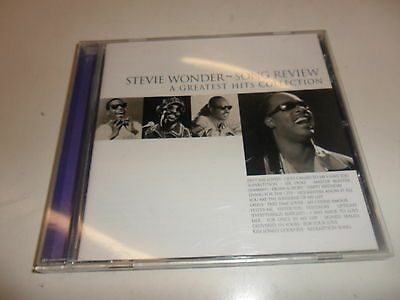 CD  Stevie Wonder - Song Review-a Greatest Hits Collection