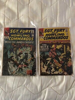 sgt. fury and his howling commandos 17 and 20