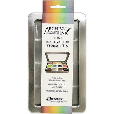 Tim Holtz Ranger - Storage Tin - Archival Mini Ink Pads