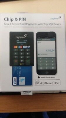 13Pieces of Payleven Chip&Pin Easy & Secure Card Payments with your IOS Device
