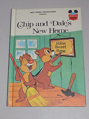 """Vintage Walt Disney Productions """"Chip and Dale's New Home"""""""