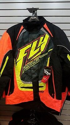 New Non Current Fly Racing Snx Pro Snow Coat