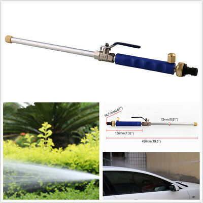 High Pressure Car Auto Washer Spray Nozzle Garden Water Hose Wand Attachment Kit