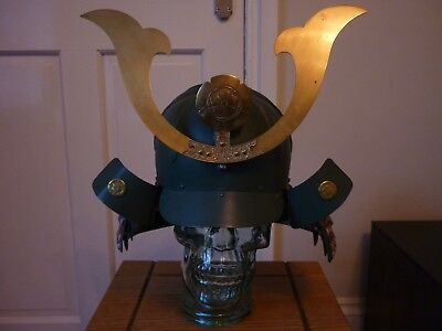 Samurai Helmet Reproduction Excellent Condition Great Quality