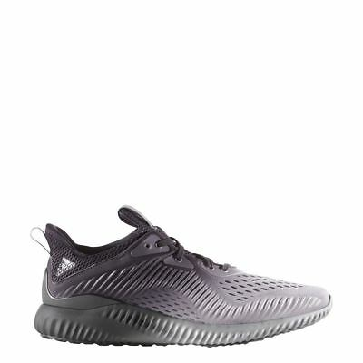 b7b43823b ADIDAS ALPHABOUNCE EM Men s Running Training Shoes Black Grey BY4263 ...
