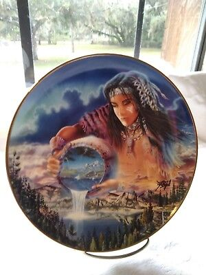 ~The Water Of Life~ Indian Plate. Royal Doulton,  Bone China Limited Edition