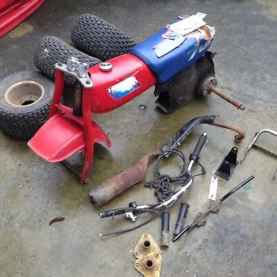 RALEIGH RUNABOUT 50cc PEDAL N POP and a CHAMP 50cc kids motorbike SPARES REPAIR!