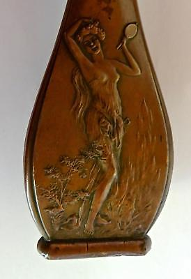 Art Nouveau Vase with Maidens: #1 of a pair