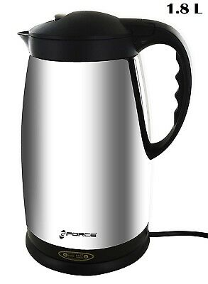 Electric Tea Kettle Stainless Steel Cordless Water Heater Fast Boiler Coffee 1L