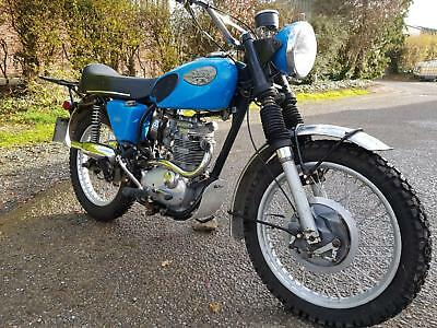 1970 Bsa Starfire 250 Classic Street Scrambler. Matching Numbers. Delivery