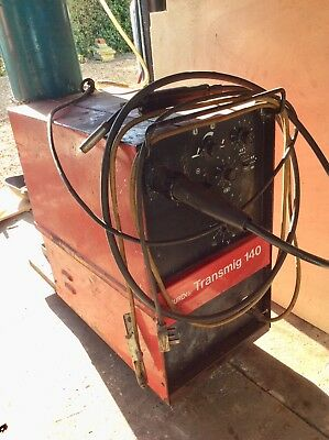 MUREX Transmig 140 heavy duty Mig Welder, working, instructions, single phase