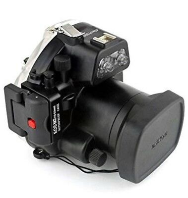 Polaroid SLR Dive Rated Underwater Housing Case For Canon M II 18-55mm