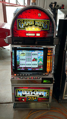 GAME KING IGT S-2000 VIDEO POKER MACHINE, Cleopatra, KENO,