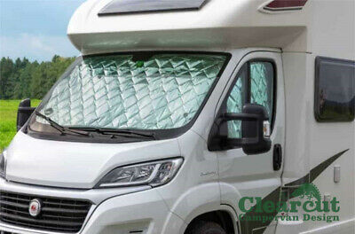 3 x Reimo Thermal Blinds/Screens Fiat Ducato X290, CAB Set, Campervan Screens