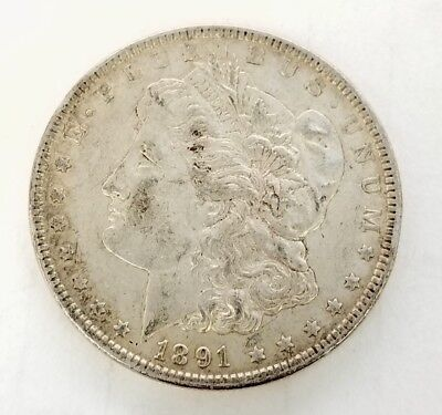 * 1891 United States Of America Morgan $1 Dollar Coin