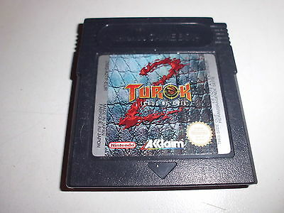 Nintendo   Game Boy Color  Turok 2 - Seeds of Evil