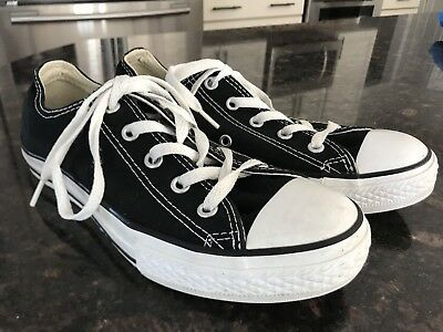 Converse Youth Sneakers Black Size 3