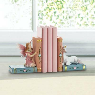 **UNICORN Fairy Bookends Baby Toddler Kids Fairytale Christmas Gifts Galore NIB*
