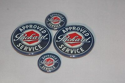 4 Packard Service Magnets