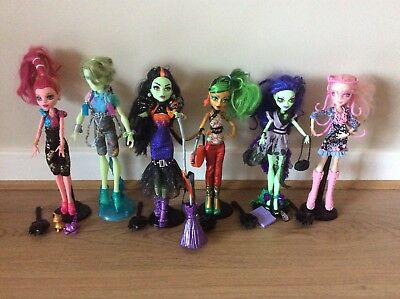 Monster High Bundle, excellent condition, all with original accessories