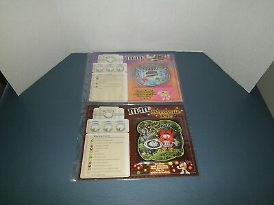 (2) Willabee Ward M&M's Recipe Patch Cards