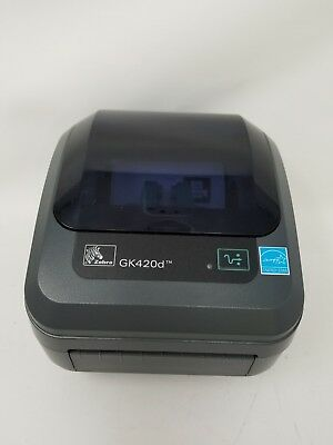 ZEBRA GK420D USB/ENET Direct Thermal Label Printer GK42
