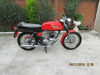 Royal Enfield Genuine Continental GT 250cc (1965)