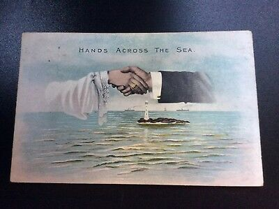 Shipping Lighthouse Hands Across The Sea