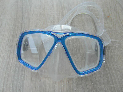 Kinder Taucherbrille Aqua Lung blau/transparent
