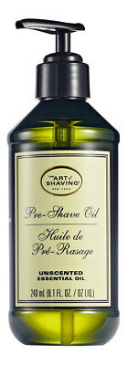 The Art of Shaving Pre-Shave Oil Unscented 8 oz. Sealed Fresh