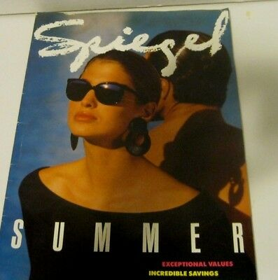 Vintage Spiegel Catalog 1989  Summer Mail Order Catalog - Great Condition