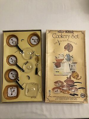 Vintage Collectable Holly Hobbie Cookery Set
