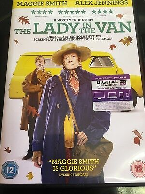 The Lady in the Van DVD 12 Plus Digital Download Maggie Smith
