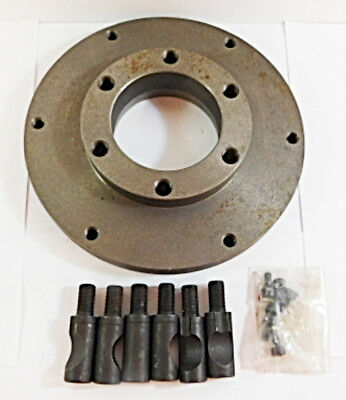 "Value Series 429-3728 Adapter Back Plate for 8"" Diam. Lathe Chucks"