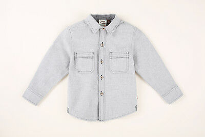 NWT Fore Axel & Hudson Toddler Boy's Gray Long Sleeve Flannel $52 - Choose Size