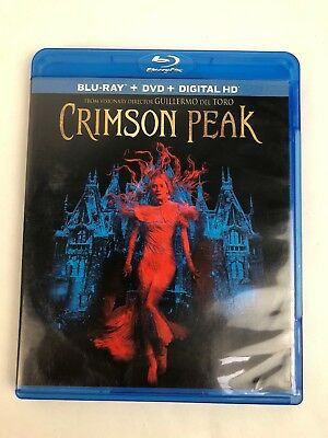 Crimson Peak (Blu-ray + DVD) Mint Discs Guaranteed - Fast Free Shipping