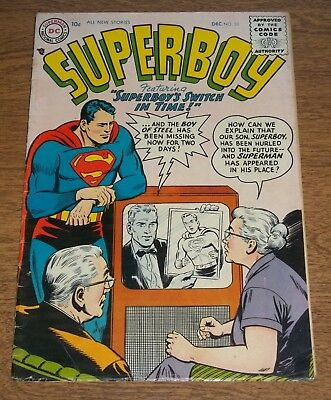 DC Superboy Comic 1956 Issue 53