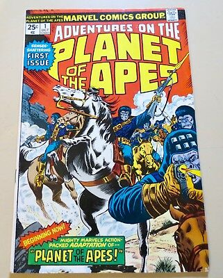 18-C1533: Adventures Planet of the Apes # 1, VF- 7.5! See Promo!