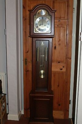 Grandfather Clock. Lincoln 31 Day. Chiming. Tempus Fugit. With Key
