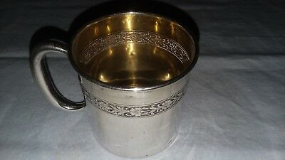 Vintage Towle Sterling Silver Child's/Baby's Cup # 79131 Sept 30, 1924